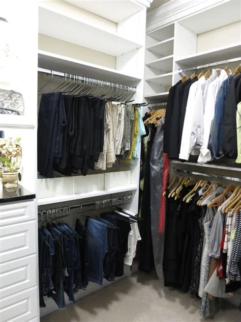 Custom Closets Dc by Custom White Walk In Closets Traditional Closet Dc