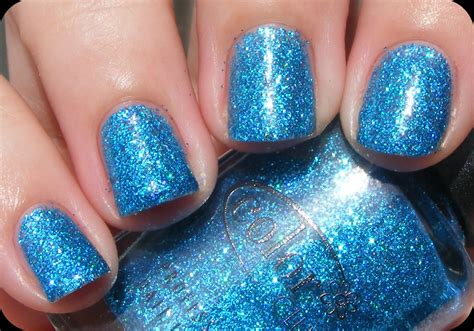 color club nail retailers color club siren blue glitter holographic holo