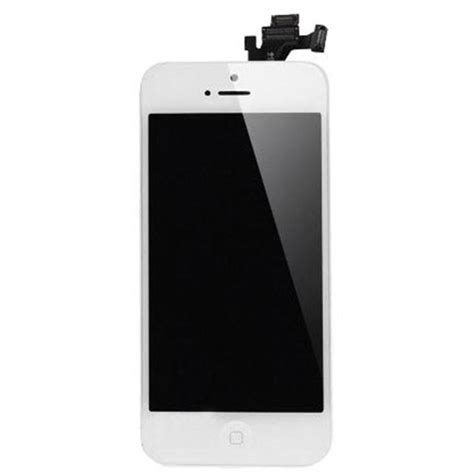 Lcd Iphone 5 White iphone 5 lcd screen assembly with home button white