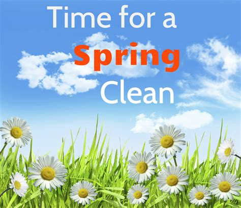 spring cleanup spring clean now it s good for your health