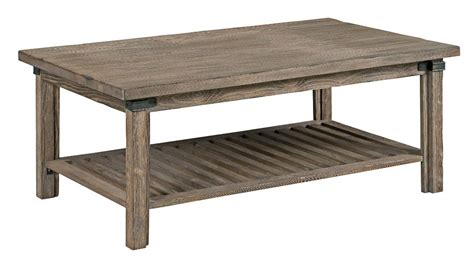 Weathered Gray Coffee Table Furniture Foundry Rustic Weathered Gray Rectangular Cocktail Table Olinde S Furniture