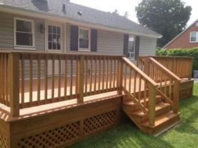custom decks custom decks porches ac wood contracting