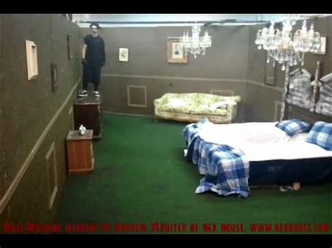 hex house tulsa wall walking illusion 1 1 avi youtube