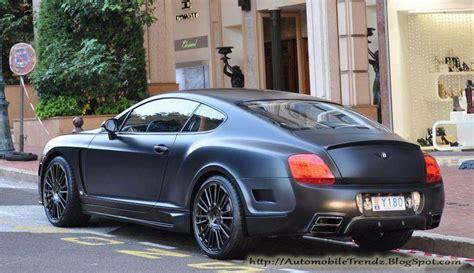 bentley black matte automobile trendz bentley continental gt matte black