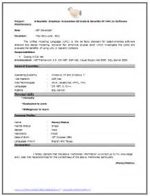 Cv Resume Format For Freshers Over 10000 Cv And Resume Samples With Free Download