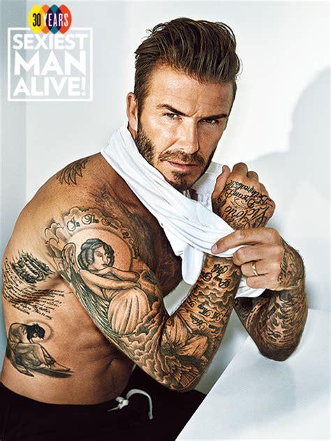 tattoo david beckham rug david beckham sexiest man alive 2015 tattoo photos