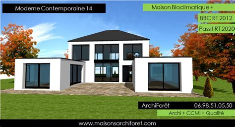Duplex Plans by Maison Contemporaine Moderne Et Design D Architecte