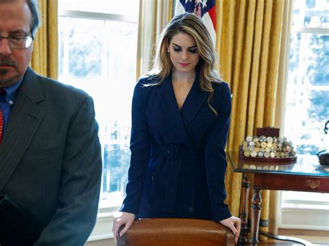 hope hicks porter hope hicks rob porter both out at white house after