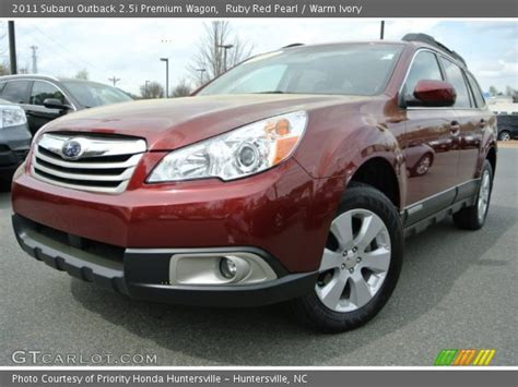 2011 subaru outback 2 5i premium wagon rare 6 speed manual for sale in saskatoon ruby red pearl 2011 subaru outback 2 5i premium wagon warm ivory interior gtcarlot com