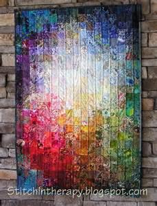 watercolor quilt ideas