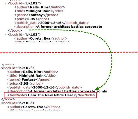 xml tutorial node vba excel update xml file