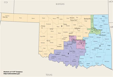 Oklahoma Number Search Oklahoma S Congressional Districts