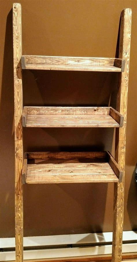 leaning bathroom shelf 17 best ideas about leaning ladder shelf on pinterest