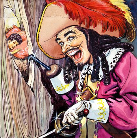 Captain Original pan and captain hook by nadir quinto at the
