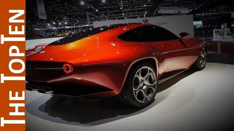 alfa romeo concept cars the top ten alfa romeo concept cars