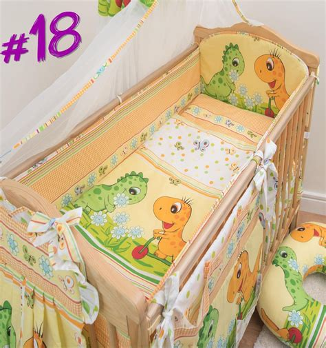 5 baby bedding set nursery cot cot bed all