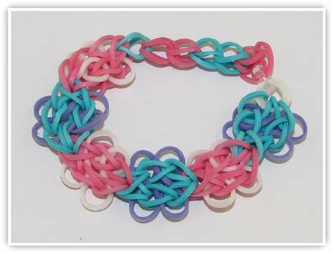 How To Make the Butterfly Blossom Bracelet   Rainbow Loom Patterns