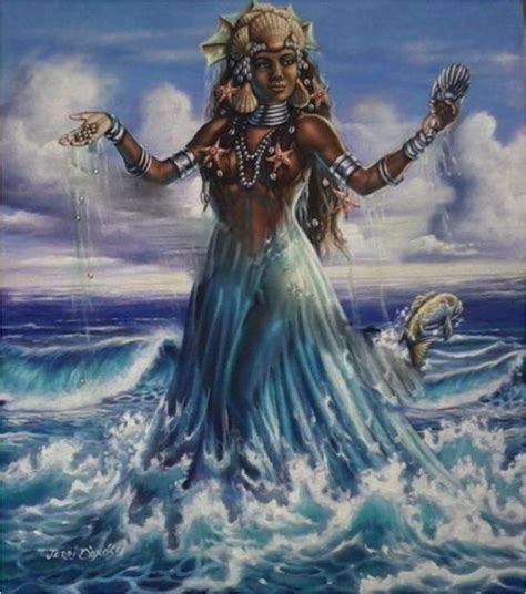 Goddess Of The by Yemaya Of The Sea