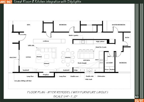 great kitchen floor plans great room kitchen floor plans arcbazar com