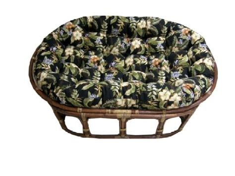 outdoor futon cushions outdoor double papasan cushion