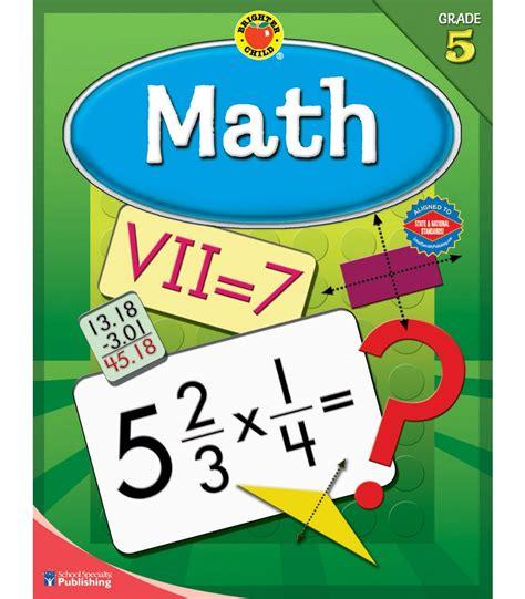 pictures of math books math workbook grade 5 carson dellosa publishing