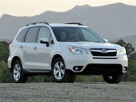 white subaru forester 2014 content for j d power