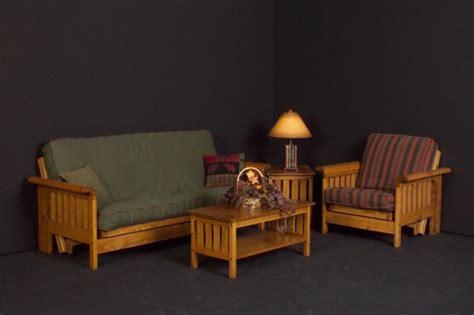 futon wien futon and chair set