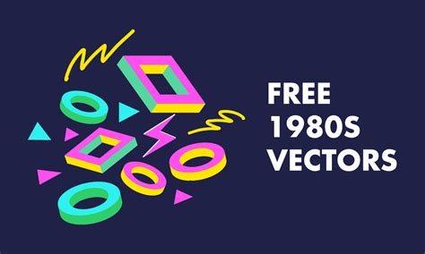 best free vector 16 free 80s vectors patterns electronics and