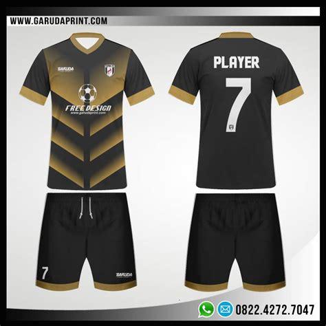 Baju Bola Desain Sendiri desain baju futsal 79 gold shines garuda print garuda print