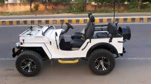 Open Jeep Modified Open Jeeps Of India