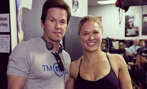 film iko uwais and ronda rousey ronda rousey set to star in a new movie with mark wahlberg