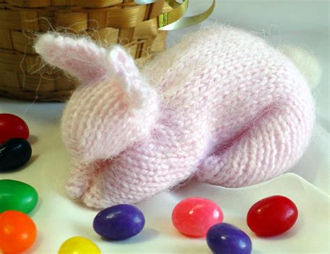 how to knit a bunny free easter knitting patterns easy easter bunny pattern