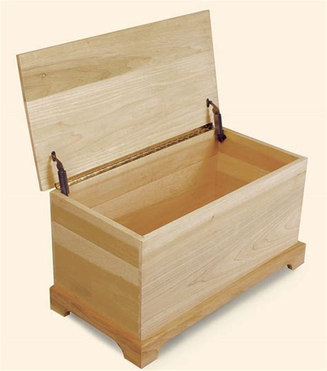 shaker style toy chest finewoodworking