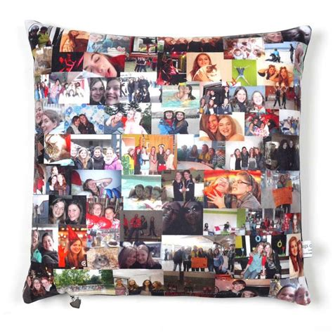 Dining Room Seat Cushions Custom Cushion With Photo Personalized Pillow With