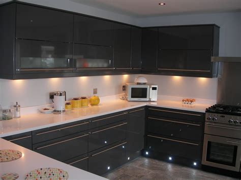 graphite gloss  england kitchens