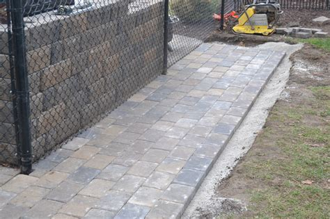 how to install patio pavers paver patio installation how to properly install your
