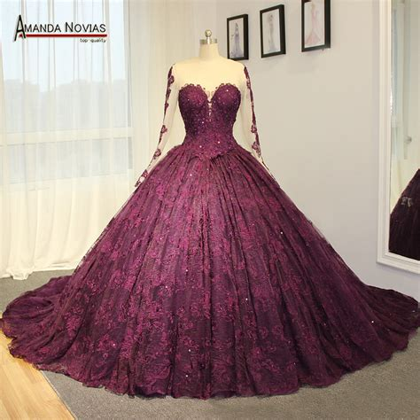 wedding dresses purple popular purple wedding dress buy cheap purple wedding