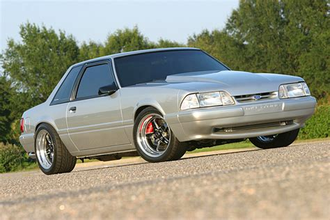 black fox mustang coyote swapped 1991 fox mustang lx coupe pulls like a