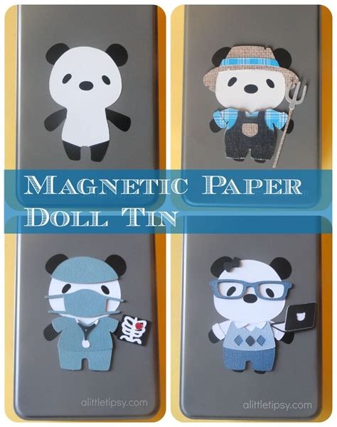 How To Make Magnetic Paper Dolls - 17 best images about cricut ideas on create a