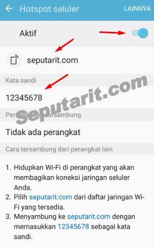 Modem Wifi Untuk Android ini dia cara menjadikan smartphone android sebagai modem
