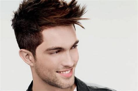 hairstyles for square face and high forehead male hairstyles for indian men according to face shape