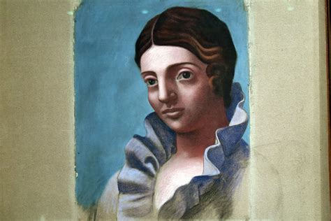 pablo picasso unfinished paintings pablo picasso 1921 portrait of olga from musee national