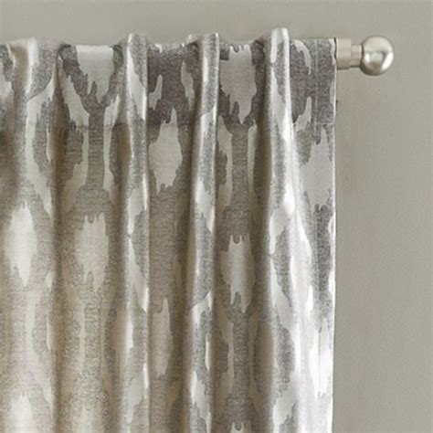 transitional curtains brushstroke ogee jacquard curtain transitional