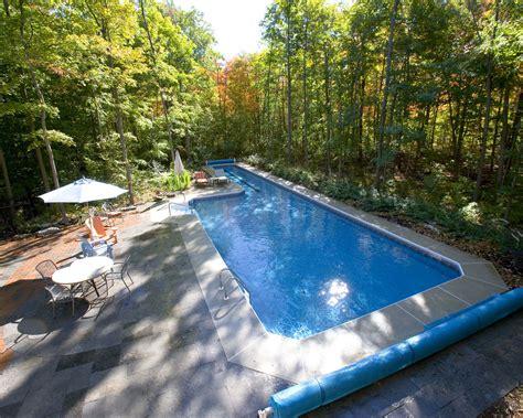 solar pools custom solar heated pool picture of
