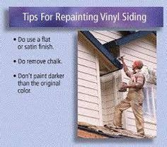 can you paint vinyl siding on a house 1000 images about painting your old vinyl siding to match your new addition on