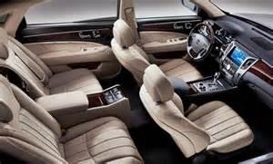 Hyundai Inside 2016 Hyundai Equus Inside