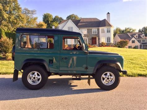 land rover for sale in pa 1986 land rover defender 90 valid pa title currently