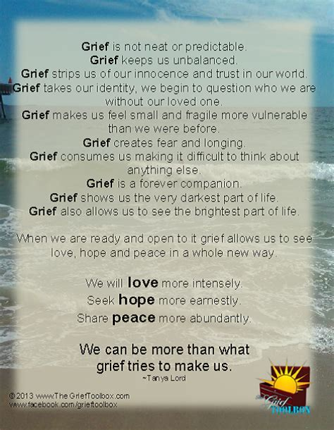 grief teaches   poem  grief toolbox