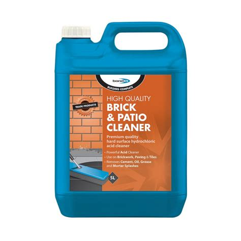 brick patio cleaner brick patio cleaner a powerful acid based cleaner