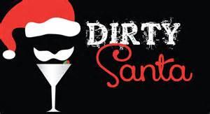 dirty santa 123 invitations